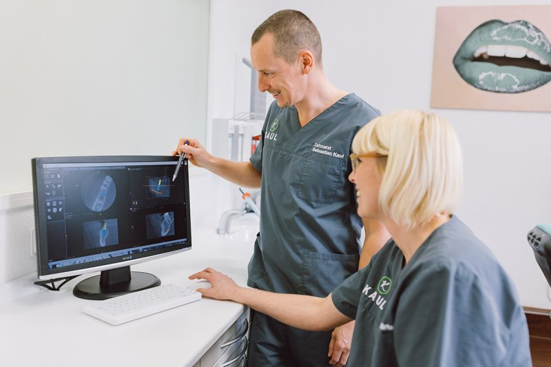 Impressionen aus der Zanharztpraxis Kaul
